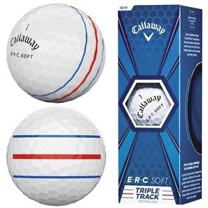 Callaway Chrome Soft Triple Track míčky (3ks)